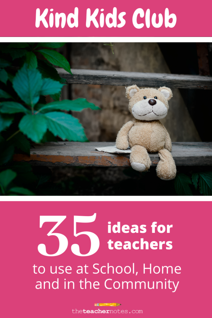 35 ideas for teachers for your classroom Kind Kids Club